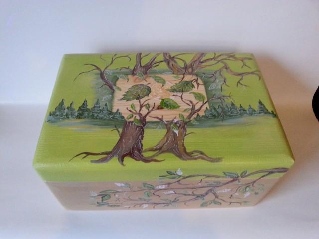Skrynelė Medžių dainos