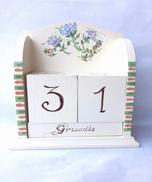 """Medžio kalendorius """"Laiko dovanos"""""""